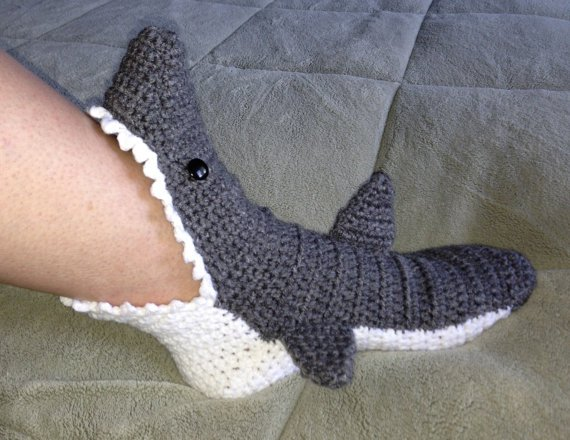60 Free Patterns For Crochet Shark Slippers Guide Patterns Best Crochet Shark Slippers Pattern Free