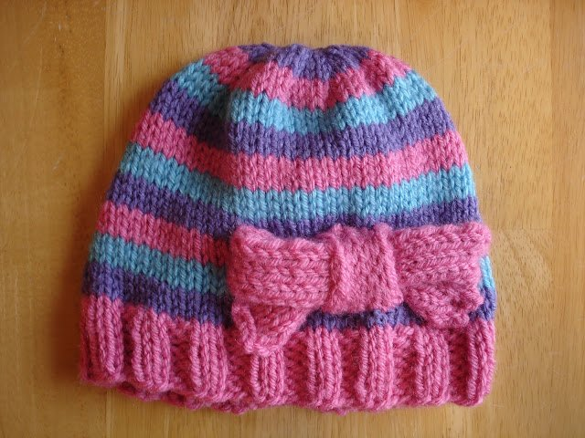 netherlands how to knit a childs hat with circular needles knitting ... 0493c71bc1a3