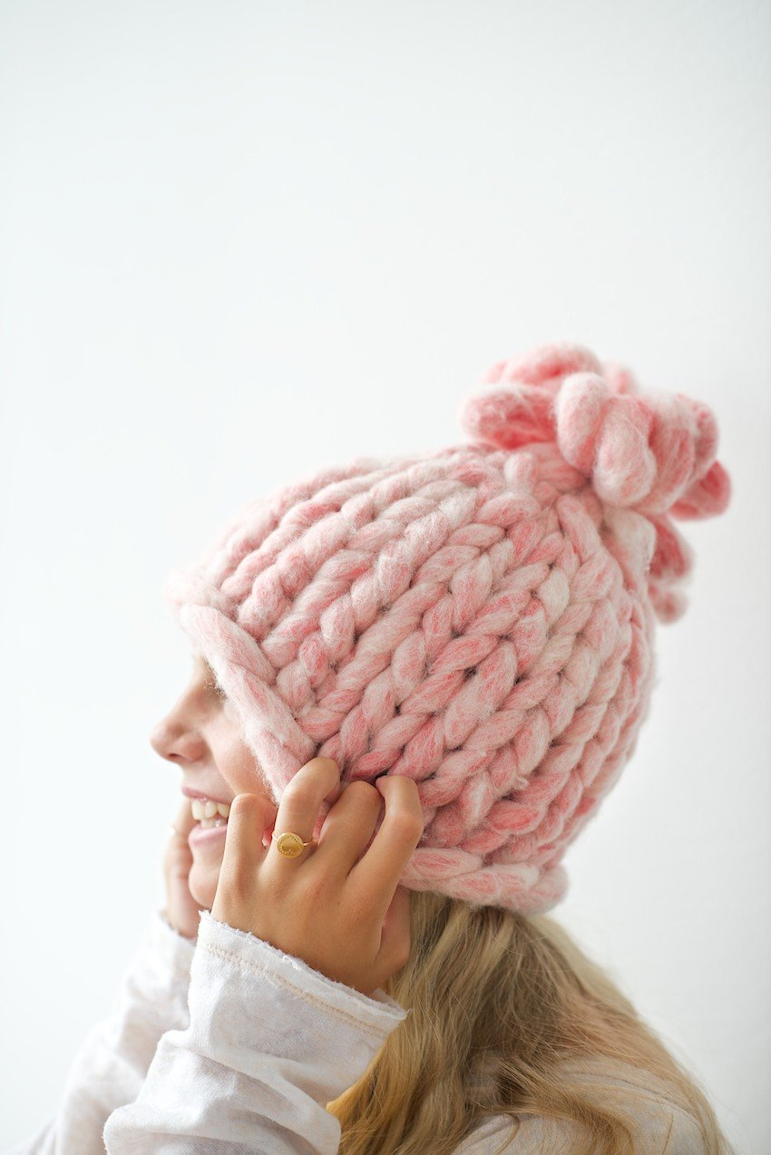 45 Free Knitting Patterns for a Beanie  42e61a25b94