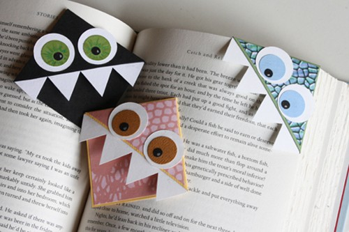 30+ DIYs and Ideas to Make Corner Bookmarks | Guide Patterns