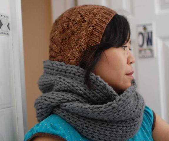 Knit Infinity Scarf Pattern Choice Image Handicraft Ideas Home