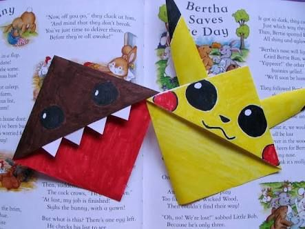 Pokemon Pikachu Corner Bookmark