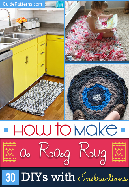 How To Make A Rag Rug 30 Diys With Instructions Guide