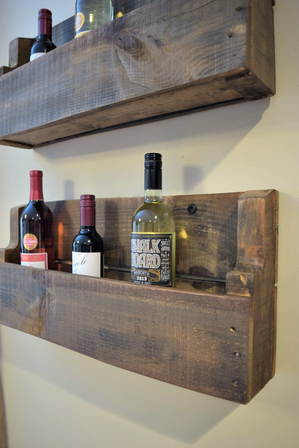 How To Make A Wood Pallet Wine Rack 22 Diy Plans Guide