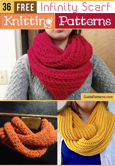 62a0d6c534d 36 Free Infinity Scarf Knitting Patterns | Guide Patterns