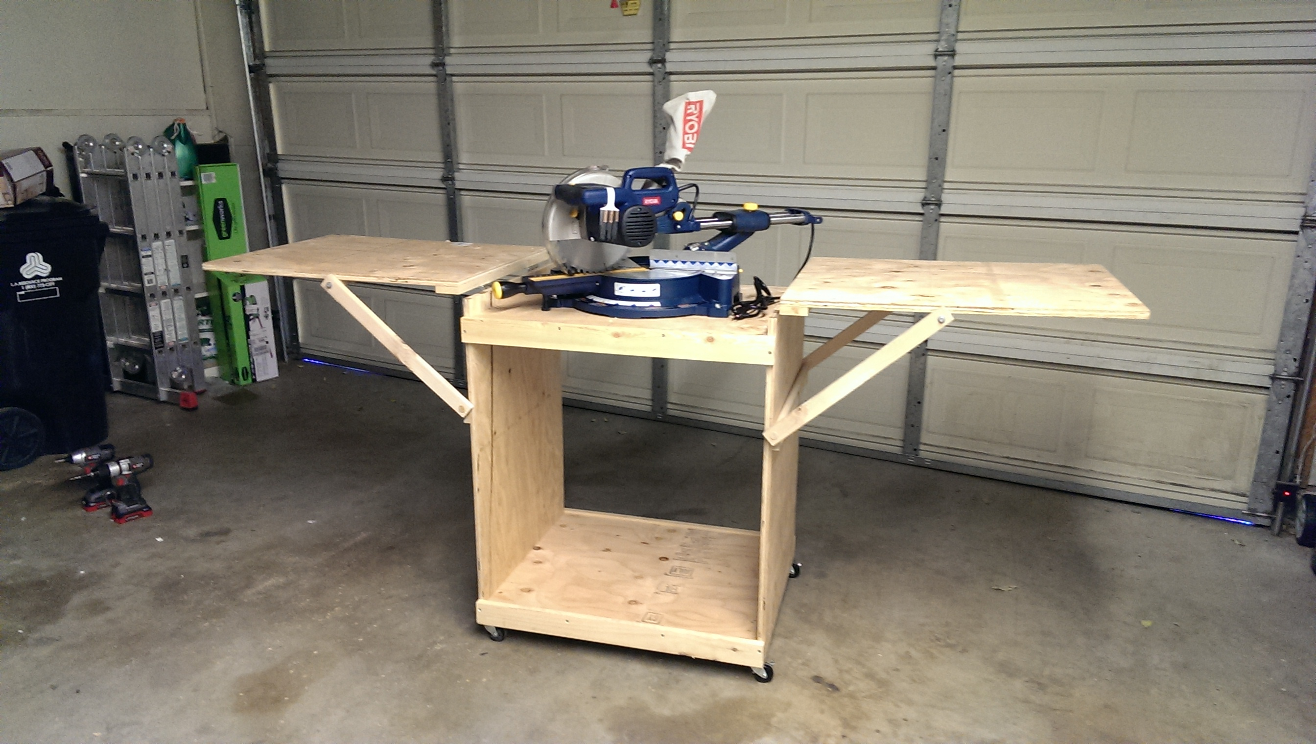 Diy Miter Saw Table