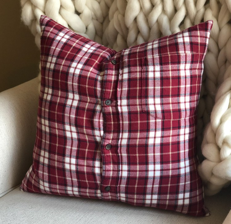 how to make memory shirt pillow with collar