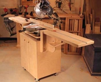 22 Diy Miter Saw Table Plans Guide Patterns