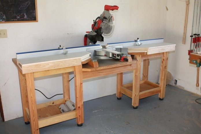 Charmant Miter Saw Table