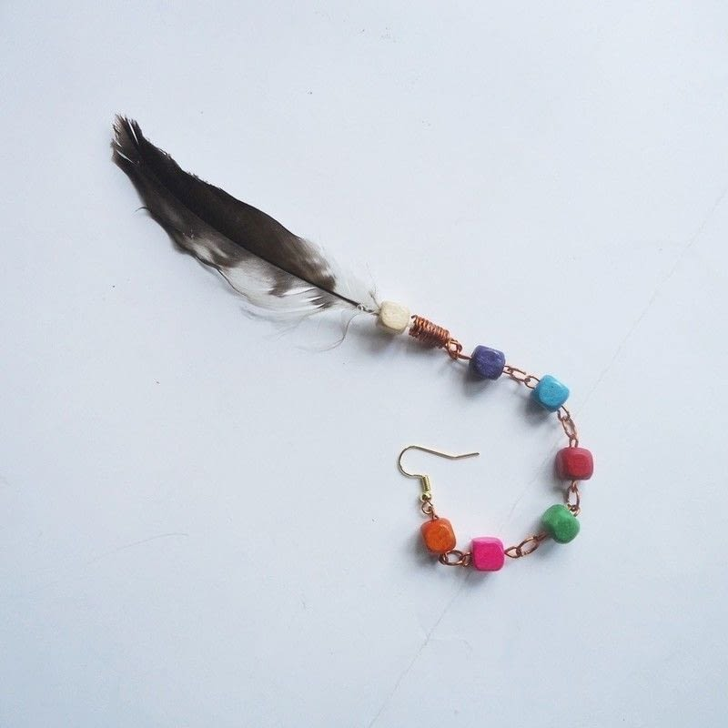 22 Ways To Make Feather Earrings Guide Patterns