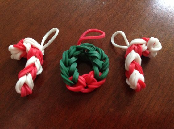 how to make loom band charms easy