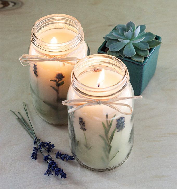 22 Diy Ways To Make Soy Wax Candles Guide Patterns