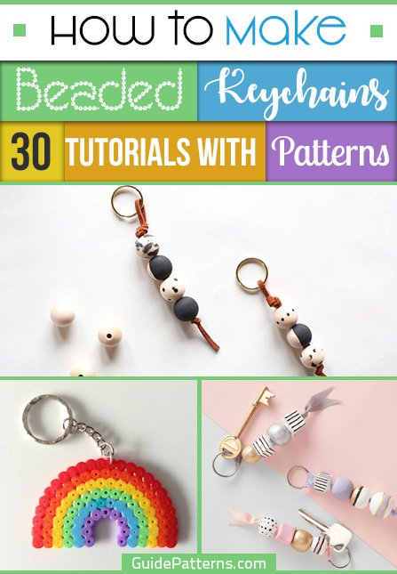 Key rings 15 X Pearl Fish Beads Crafts Jewellery Making