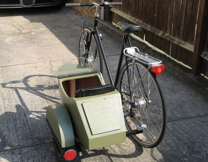 12 DIYs on How to Make a Bicycle Sidecar   Guide Patterns