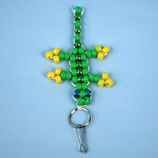 How to Make Beaded Keychains  30 Tutorials with Patterns  b203ae8f2