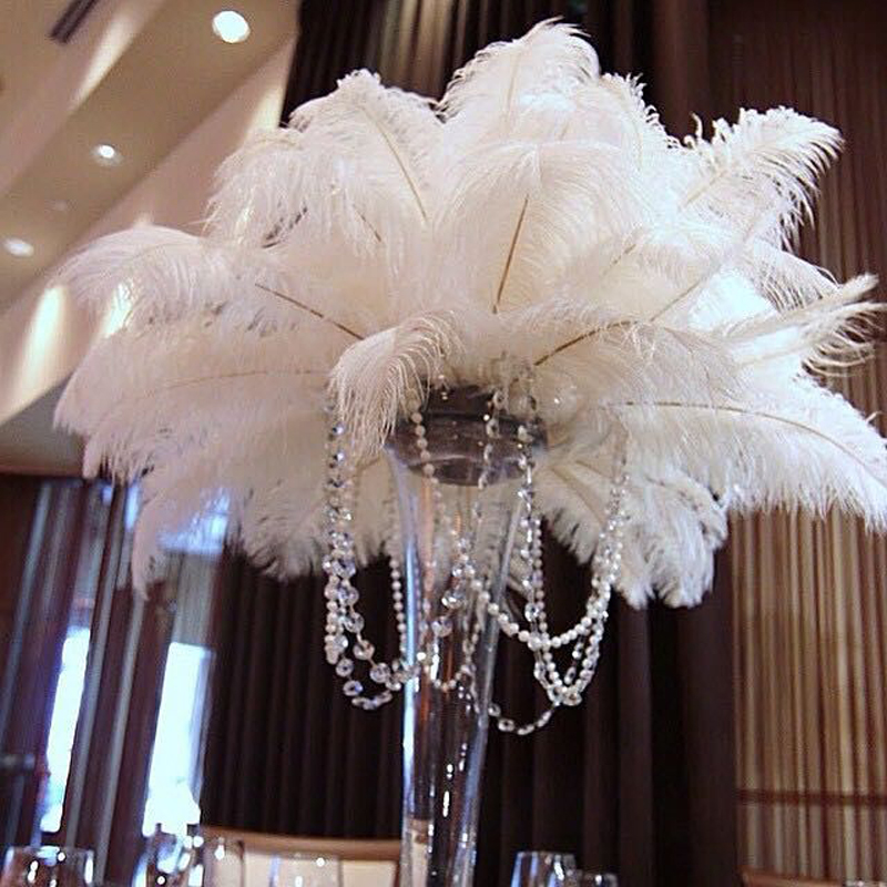 How to make feather centerpieces diys and ideas