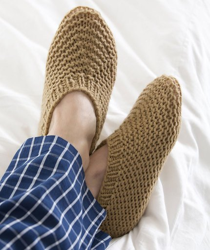 30 Free Patterns Of Knitted Slippers Guide Patterns