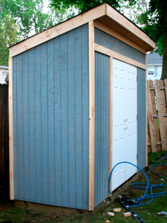 Outside Tool Shed