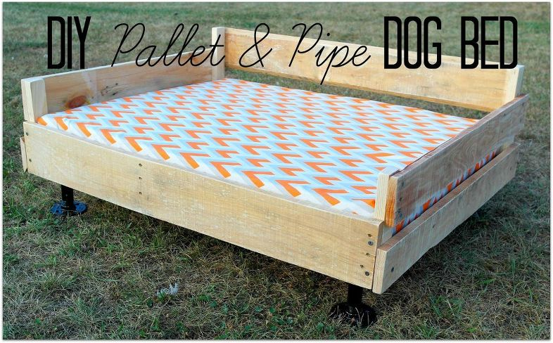 How to Make a Dog Bed out of Pallets