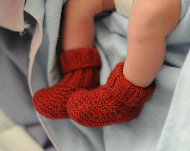 30 Free Patterns For Knitted Baby Booties Guide Patterns