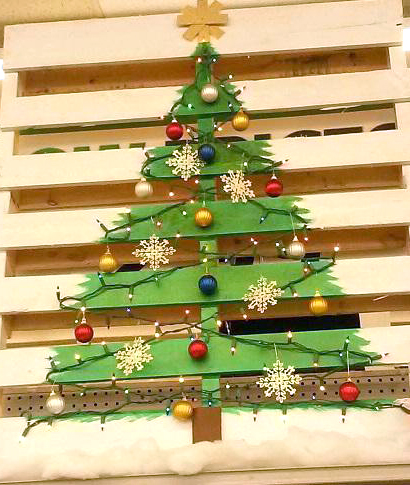 info for 76dc2 ddafb 19 Ways to Make a Wood Pallet Christmas Tree | Guide Patterns