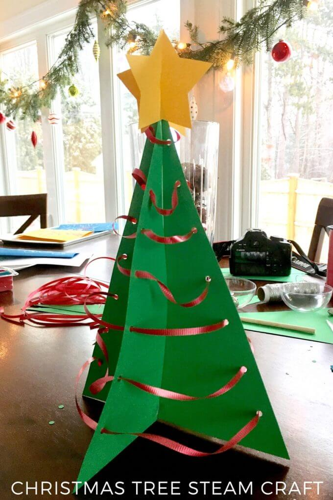 24 Diys On How To Make A Paper Christmas Tree Guide Patterns