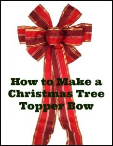 How To Tie A Christmas Bow.13 Ways To Make A Christmas Tree Bow Topper Guide Patterns