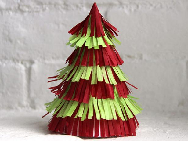 paper christmas tree - How To Make Paper Christmas Trees