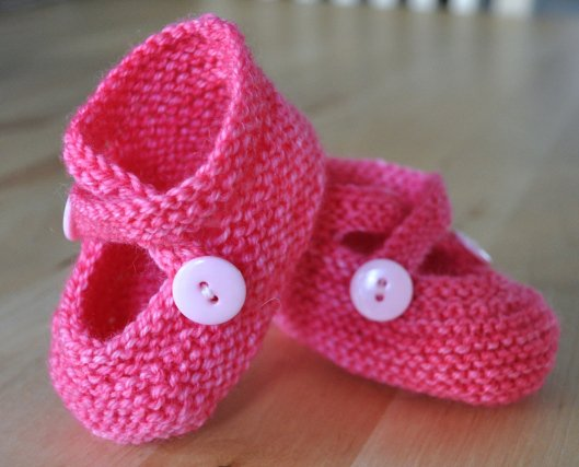 352f9ee83 30 Free Patterns for Knitted Baby Booties