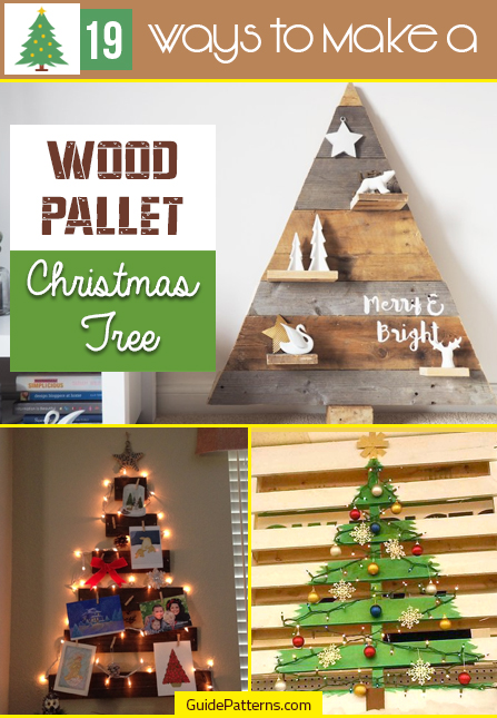 Wood Pallet Christmas Tree.19 Ways To Make A Wood Pallet Christmas Tree Guide Patterns