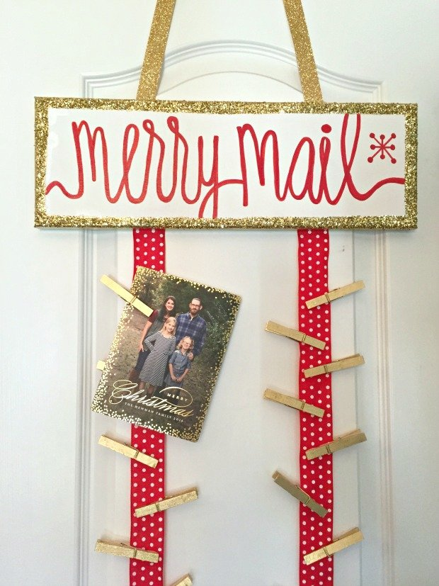 29 DIYs to Make a Christmas Card Holder | Guide Patterns