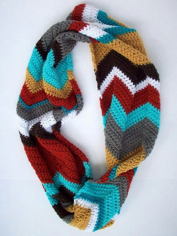 5958494063c 35 Free Infinity Scarf Crochet Patterns | Guide Patterns