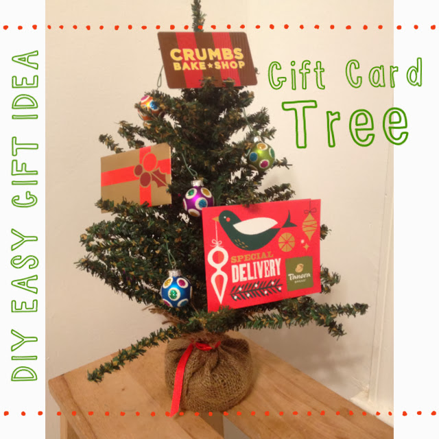 Gift card christmas tree ideas