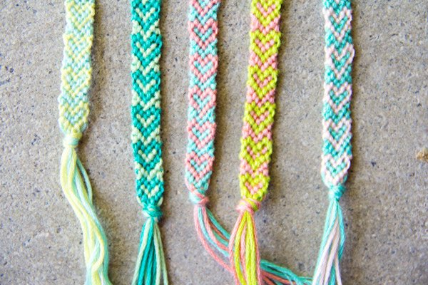 20 Heart Friendship Bracelet Patterns Guide Patterns