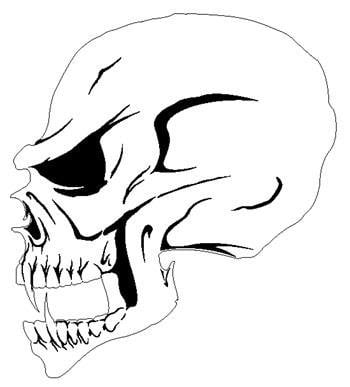 picture regarding Printable Skull Stencils known as 23 Cost-free Skull Stencil Printable Templates Expert Behaviors