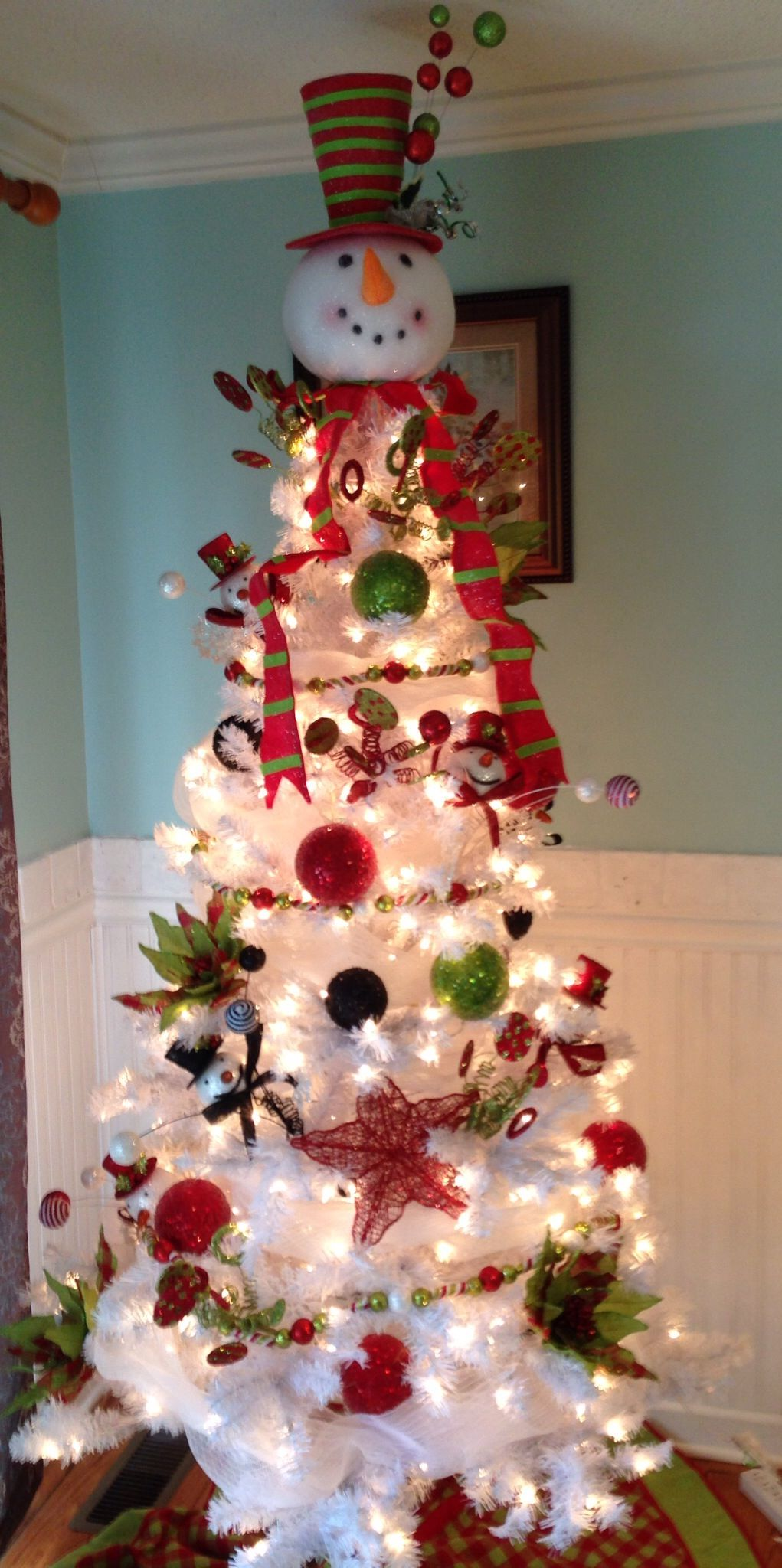 15 Snowman Christmas Tree Diy Decorations And Ideas Guide Patterns