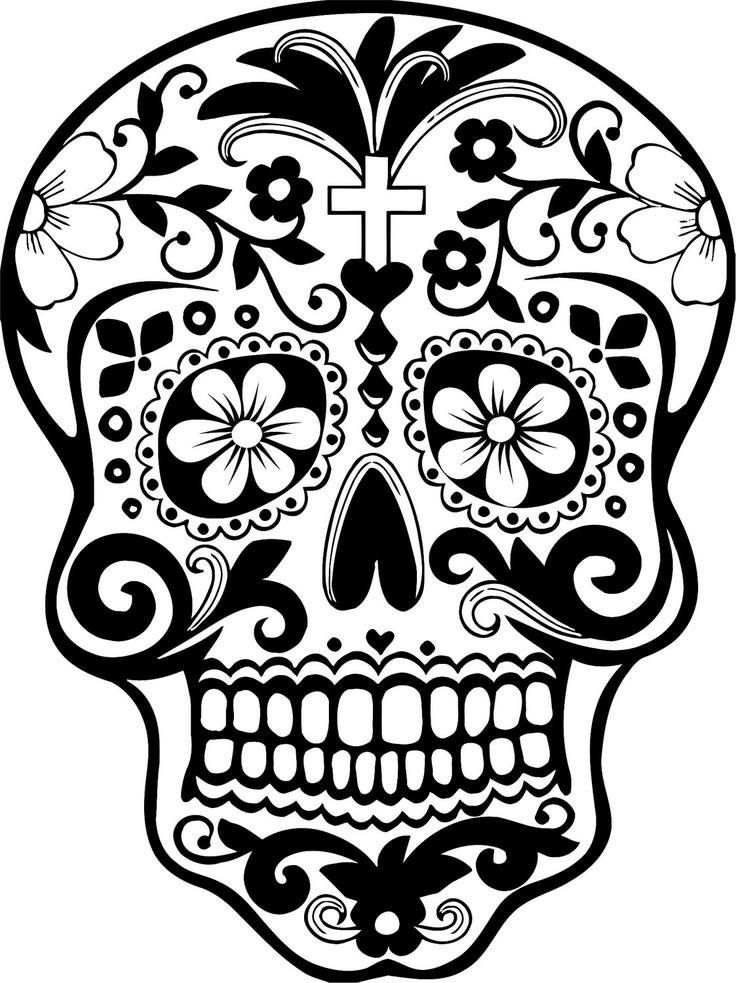 picture regarding Printable Skull Stencils identified as 23 Cost-free Skull Stencil Printable Templates Marketing consultant Behaviors