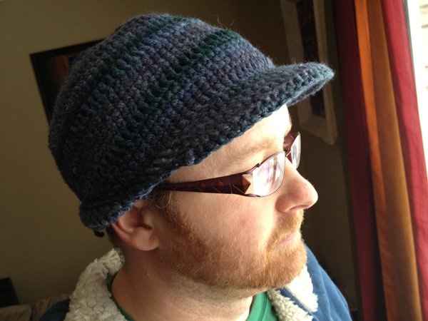 cc9a5e4dcdb 25+ Easy and Free Patterns to Make a Men s Crochet Hat