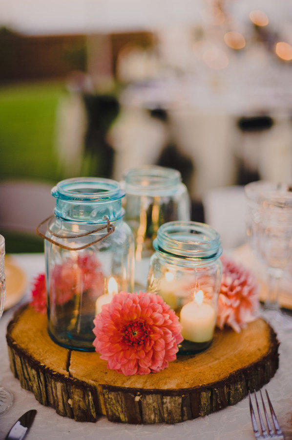 22 Unique Diys With Ideas To Make Mason Jar Wedding Centerpieces