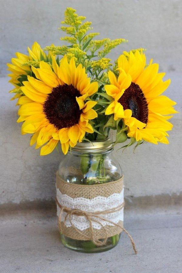 Mason Jar Wedding Centerpieces.22 Unique Diys With Ideas To Make Mason Jar Wedding Centerpieces