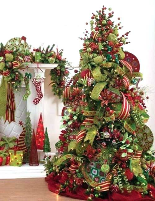 How To Put Ribbon On A Christmas Tree 20 Decorating Ideas Guide Patterns