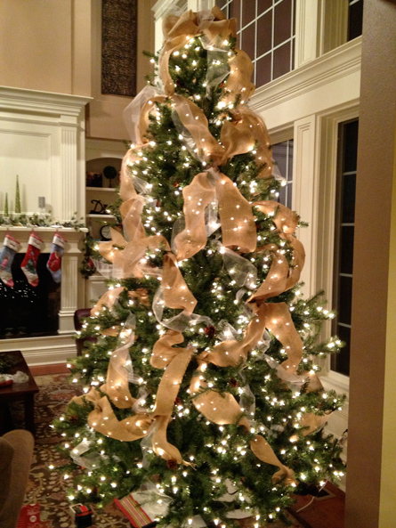 How To Put Ribbon On Christmas Tree.How To Put Ribbon On A Christmas Tree 20 Decorating Ideas