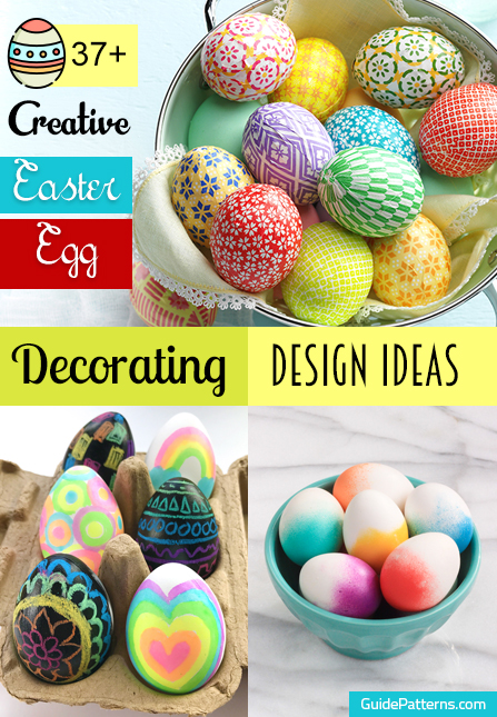 37 Creative Easter Egg Decorating Design Ideas Guide Patterns