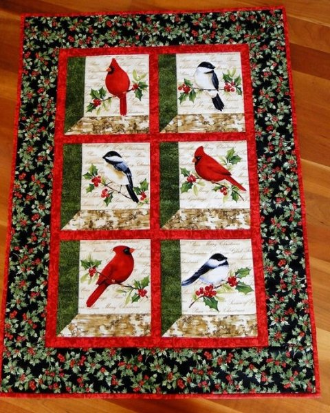 Christmas Attic Window Quilt Pattern.12 Instructions With Free Patterns To Make Window Quilt
