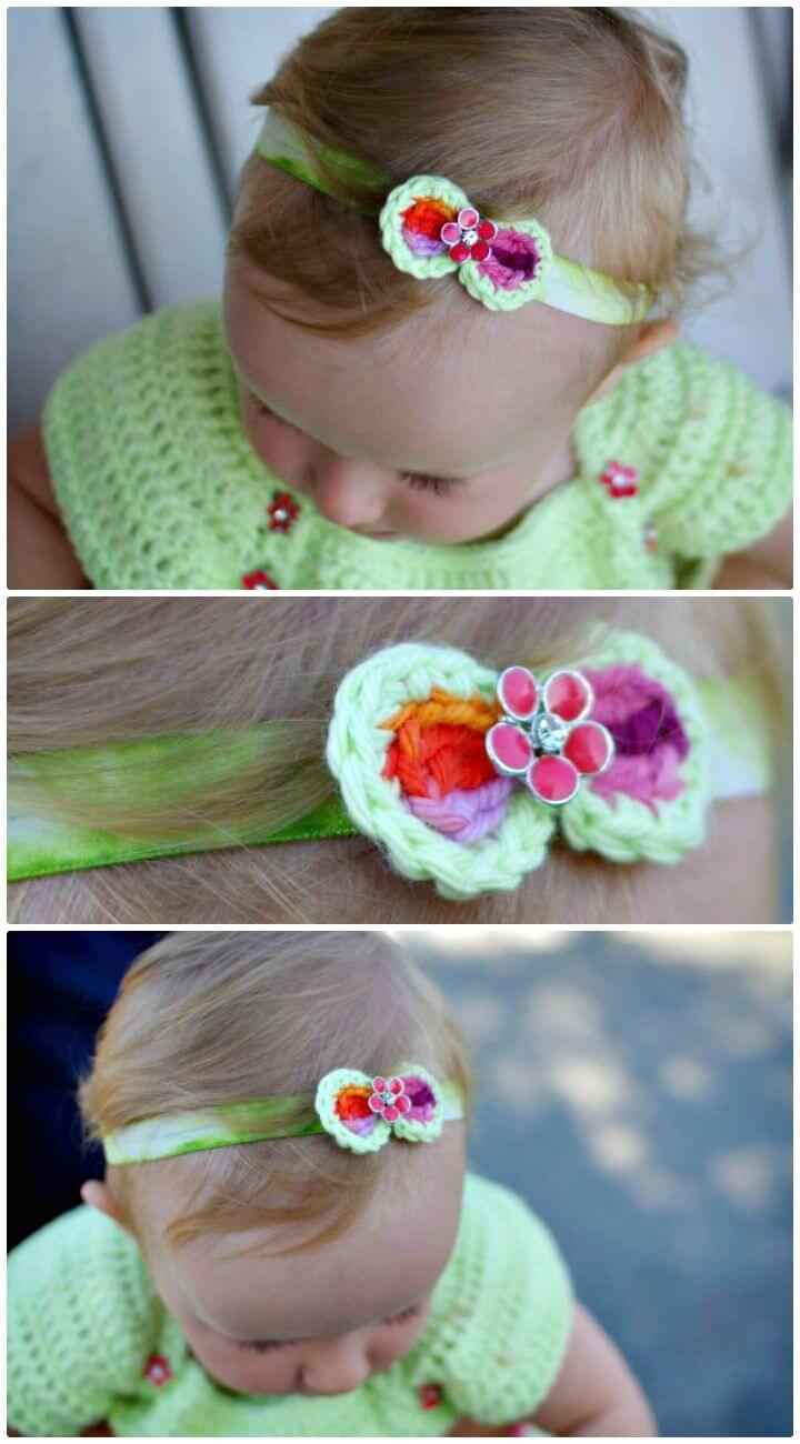 18 Ways To Make Cute Baby Flower Headbands Guide Patterns