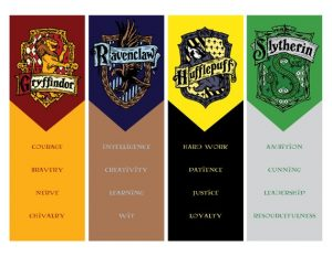 It is a photo of Striking Free Printable Harry Potter Bookmarks