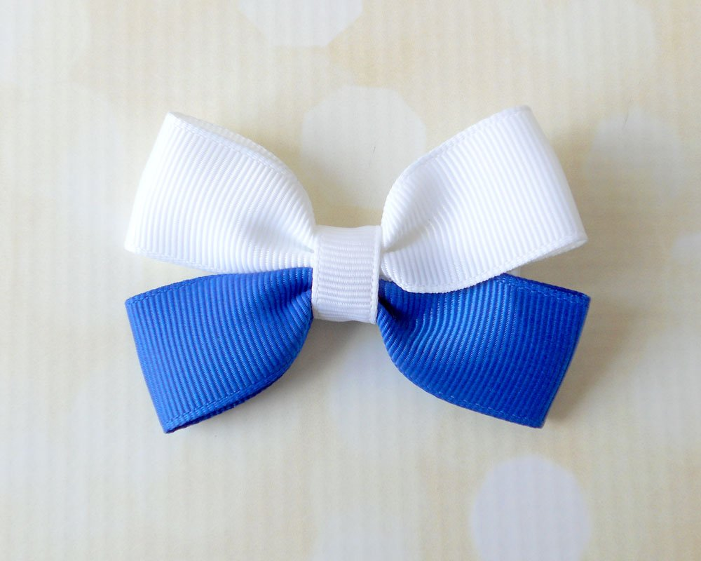 13 Ways To Make Bow Hair Clips Guide Patterns