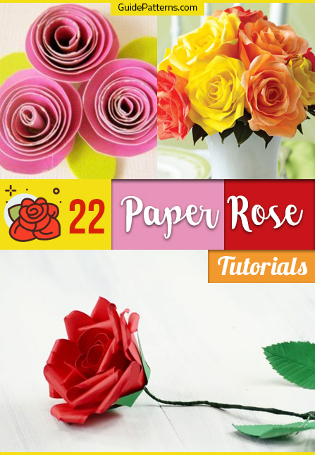 How to Make Real Looking Paper Roses : 7 Steps (with Pictures ... | 645x447