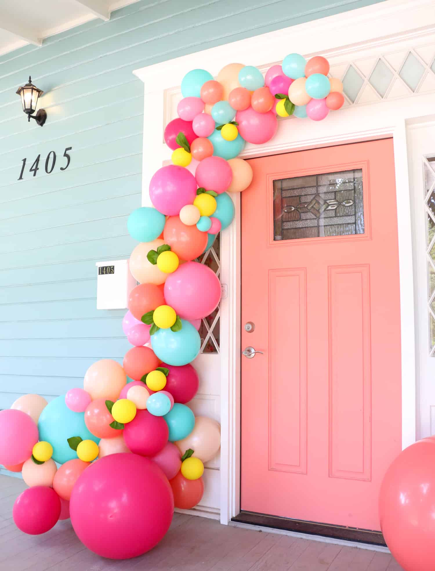 25 Interesting Ways To Make A Balloon Garland Guide Patterns