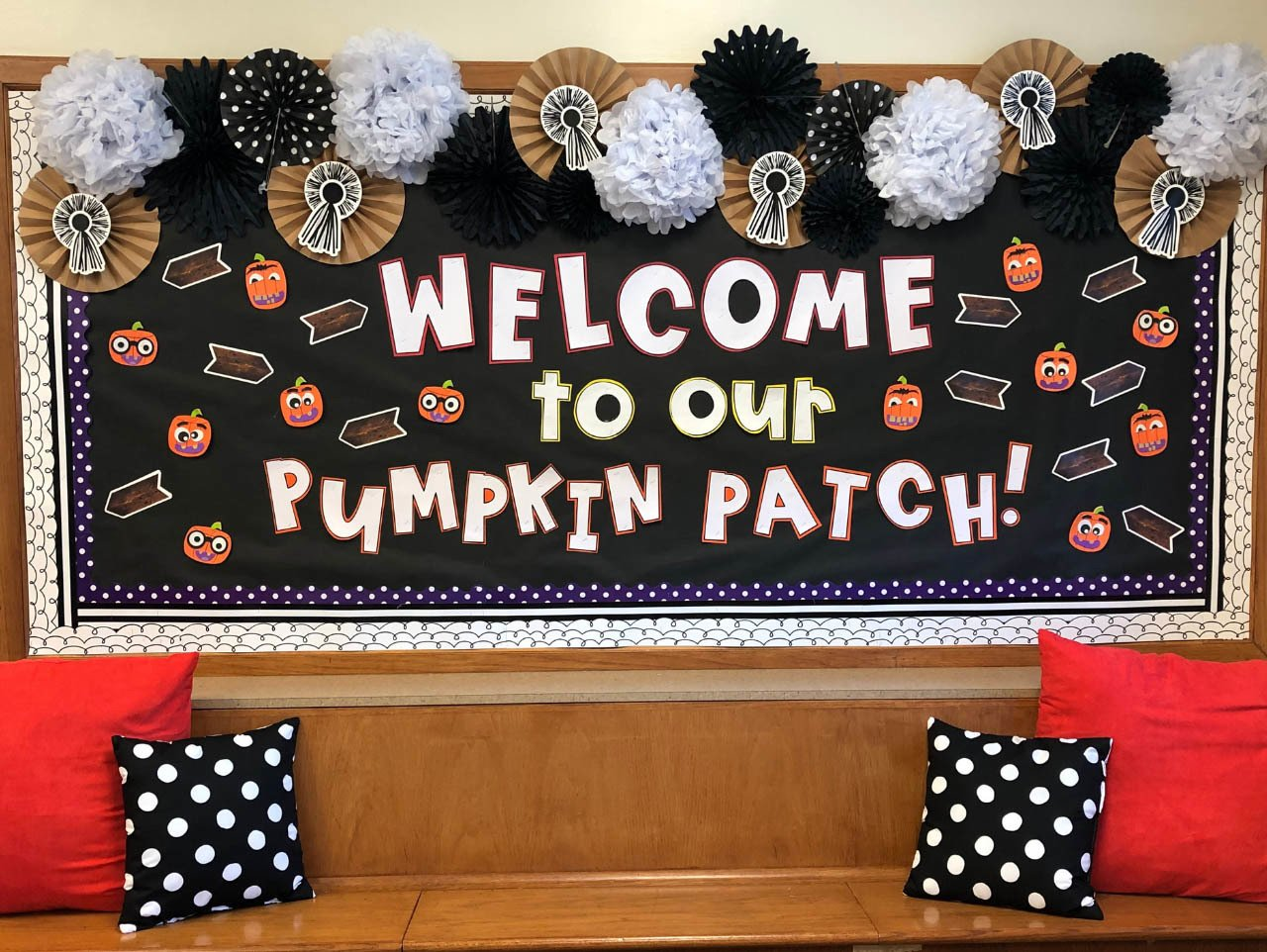 6 Tutorials And Ideas To Make A Fall Bulletin Board Guide Patterns